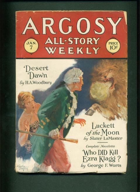 Argosy, 1928 Jan. 7