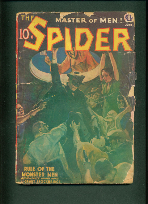 The Spider, 1939 June