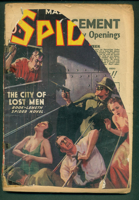 The Spider, 1938 February