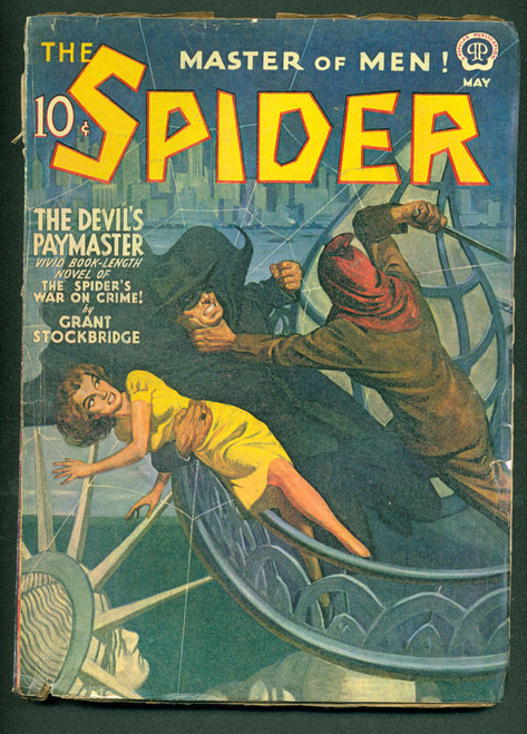 The Spider, 1941 May
