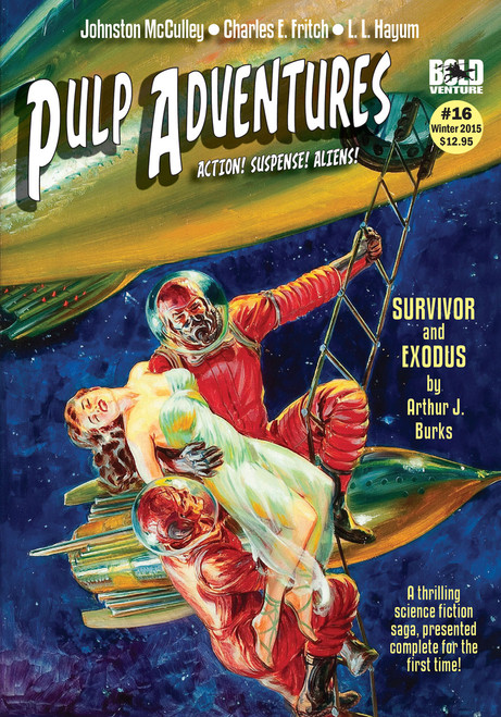 Pulp Adventures #16 (eBook)
