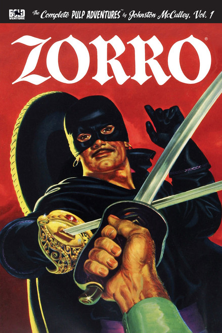Zorro: The Complete Pulp Adventures, Vol. 1
