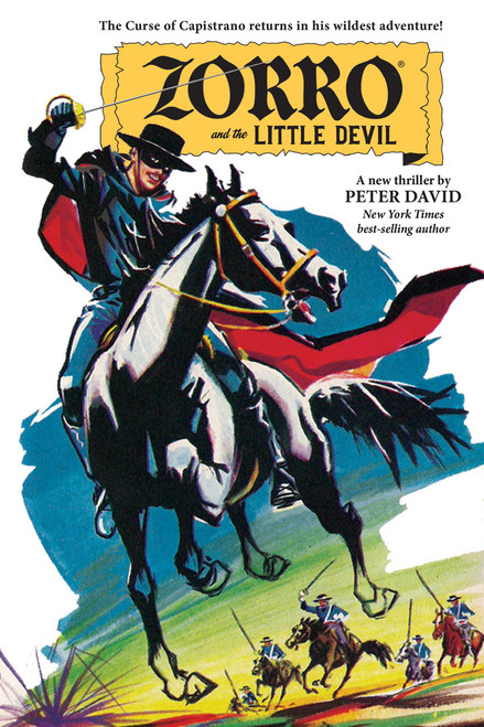 Zorro and the Little Devil (SIGNED)