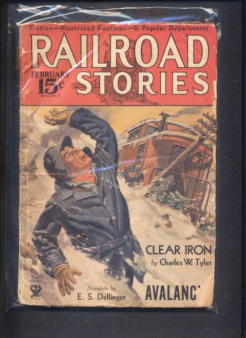 Railroad Stories, February 1934