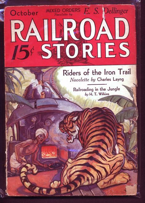 Railroad Stories, October 1932