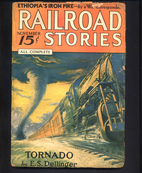 Railroad Stories, November 1935