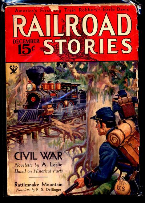 Railroad Stories, December 1933