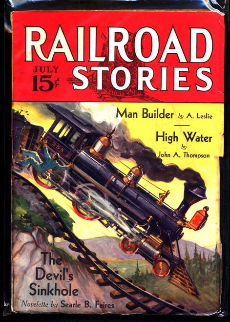 Railroad Stories, July 1933