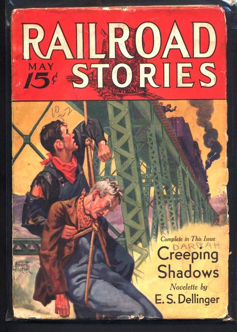 Railroad Stories, May 1933