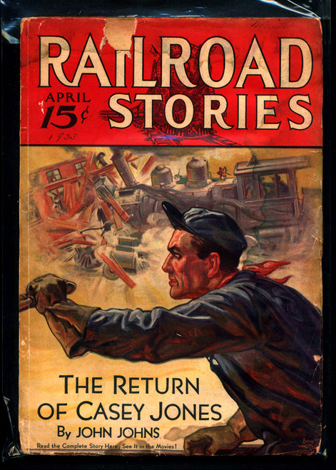 Railroad Stories, April 1933