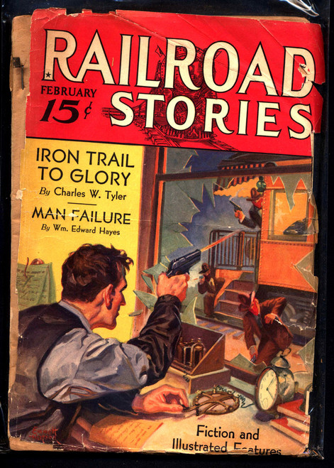 Railroad Stories, February 1933