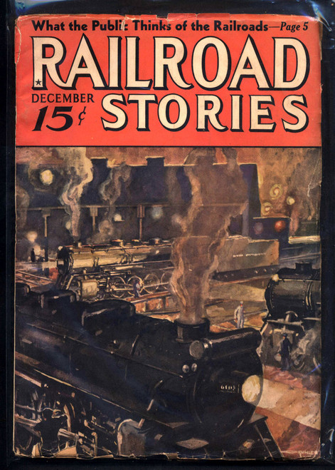 Railroad Stories, December 1936