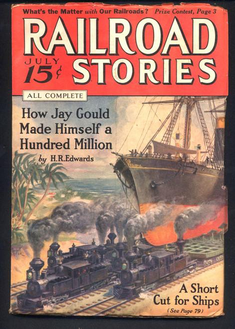 Railroad Stories, July 1936