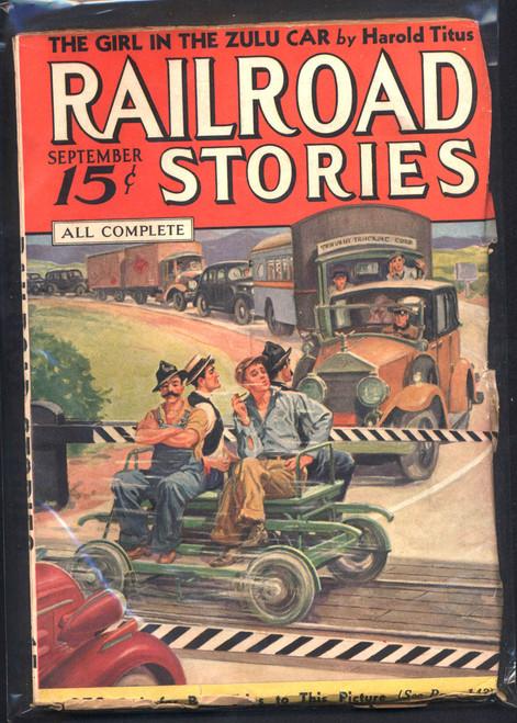 Railroad Stories, September 1936