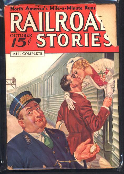 Railroad Stories, October 1936