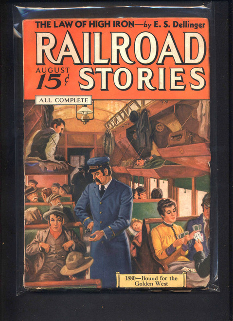 Railroad Stories, August 1936