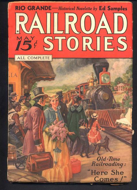 Railroad Stories, May 1936