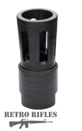 Retro Flared Flash Hider  -  308  /  300 blackout