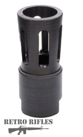 Retro Flare style Flash Hider  -  AR15  /  M16