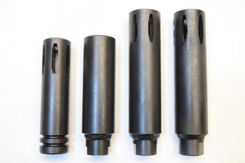 Moderator Flash Hiders - Five Types -  CAR-15 / XM177E1 / XM177E2 / Colt Commando  (1963-1974)