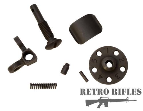M16A1 Rear sight Assembly Original Colt Parts