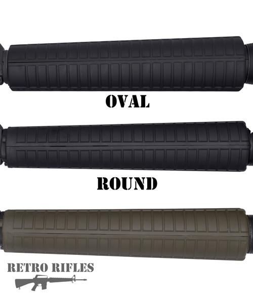 M16A2 Handguard (Black or Green)   -   (Round or Oval)