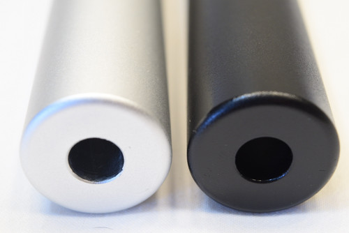 Fake Suppressor 6 inch by 1 inch- 2 Finish Options