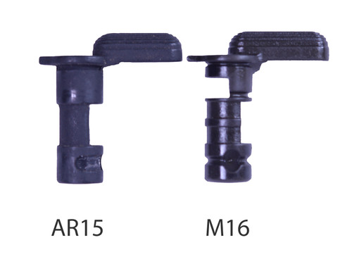 """AR15 / M16 / M4  -  Selector Switch  - """"Dimple"""" or """"Flat"""""""