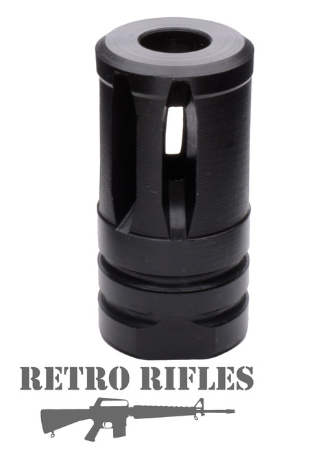 M16A2 /  M4  -  Closed End Muzzle Device - Banned States  - 308  / 300 Blackout / 5/8x24