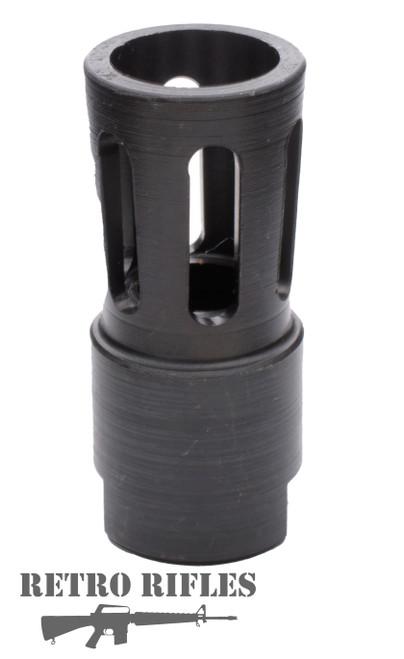 Retro Flare style Flash Hider  -  AR15  /  M16 / 5.56 / .223 / 1/2x28