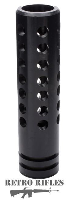 """Multi-hole Muzzle Device  -  3.5"""" -  AR15 / 5.56 / .223 / 1/2x28"""