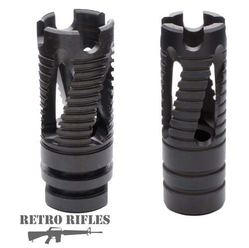 Phantom Style Flash Hider- 2 types - for AR-15 / M16 / 5.56 / .223 / 12x28