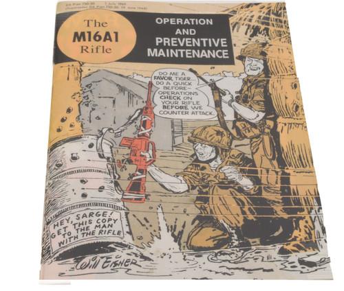 The M16A1 Rifle: Operation & Preventative Maintenance - (Vietnam Comic Book)