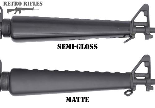 """Colt Triangle Handguards  -  (1967-1984) """"Matte"""" Black  -  AR15 / M16 / M16A1"""