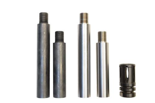 Barrel Extender  -  9mm  -   4.5 inch -  (1/2 x 28)