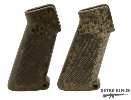 M16 A1 Original pistol grip- Bakelite Left Brown- Right White