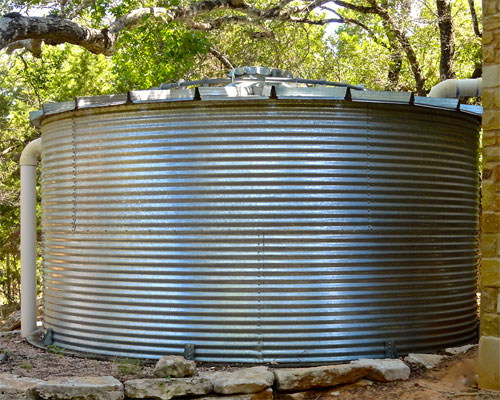 6K Gallon - Corgal Cistern Tank