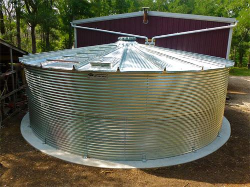 24,000 Gallon Corgal Cistern Tank
