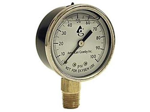 American Granby EILPG1002-4L Liquid Filled Pressure Gauge