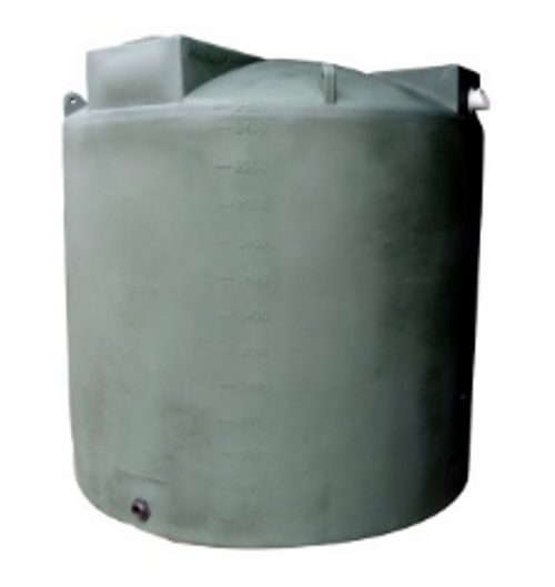 2500 Gallon Bushman Rain Harvesting Tank- Green (30385 |30389 |30717 |30388)