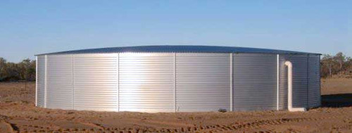 Pioneer Model XL50, 65,000 Gallon Water Storage Tank