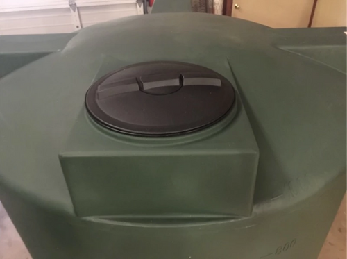 """16"""" Lid for Poly Tank"""