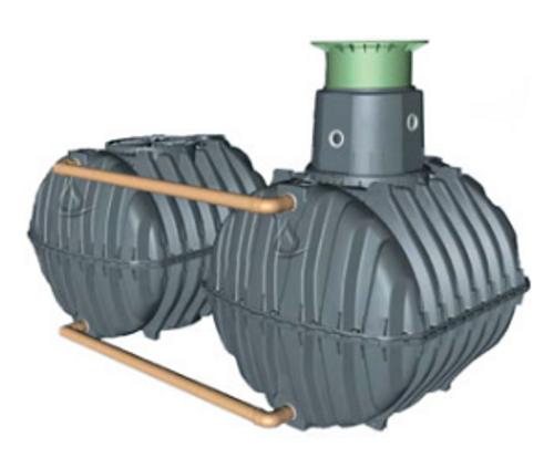 Graf Carat S 3400 Gallon Modular Cistern