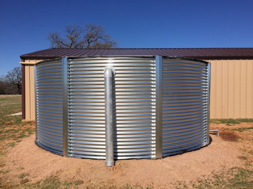 12,000 Gallon Aquamate Water Storage Tank