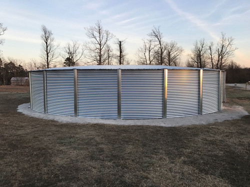 77,000 gallon water storage tank