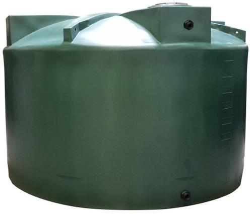 5000 Gallon Water Storage Tank (Short) - dark green