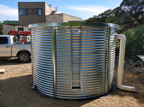 5,000 Gallon Aquamate Water Storage Tank