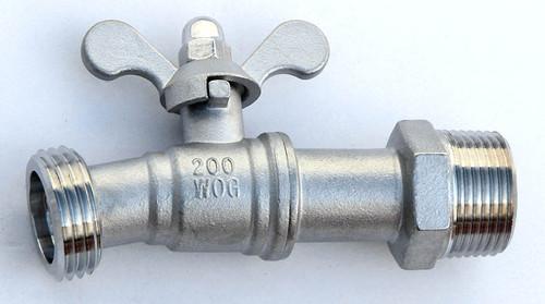 10 Degree - 3/4″ Stainless Steel Hose Bibb – (Faucet Spigot Tap)