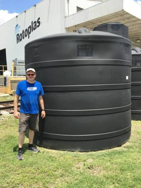 5000 Gallon Black Water Storage Tank (32368)