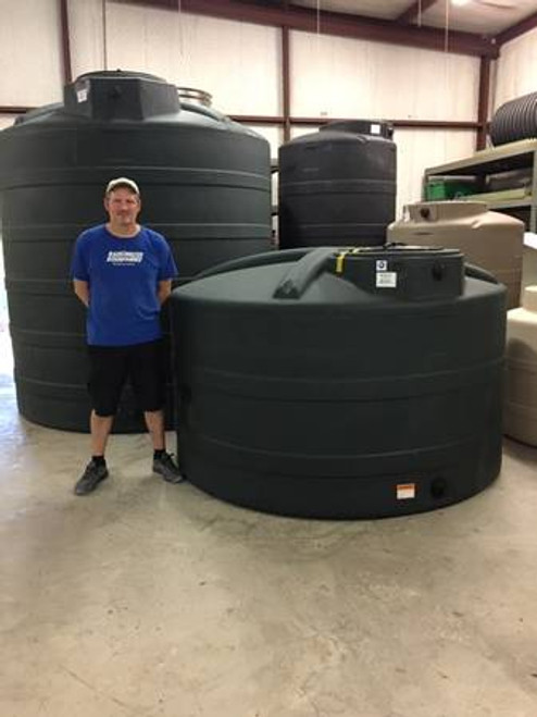 1200 Gallon Water Storage Tank- Green (32623)